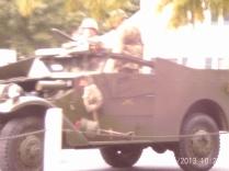 Re-enactment vehicle